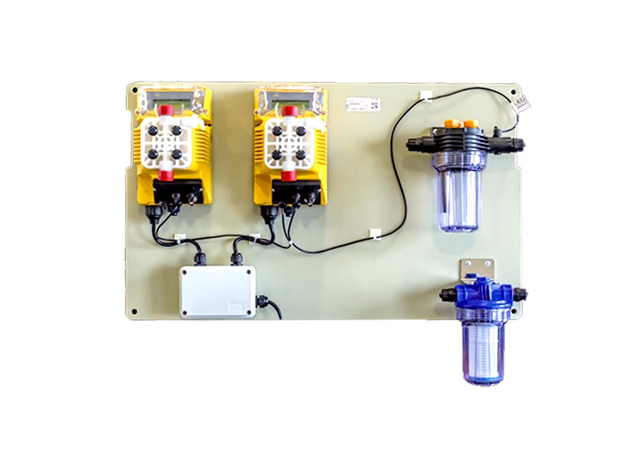 ERCA SAS helios1-panel-digital Sistemas de control automático - Serie Helios