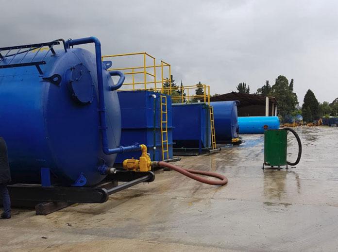ERCA SAS Servicio-de-disposicion-de-lodos-bogota Plantas de tratamiento de aguas residuales en Colombia